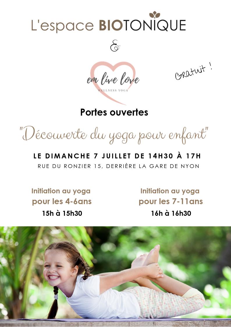 Une activité fun et relax pour les enfants: Le yoga